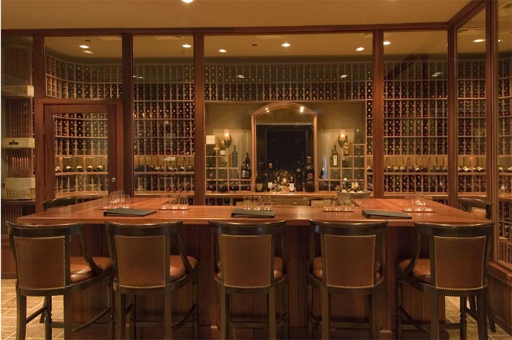 Paul wyatt designs wine racks and custom wine cellar designs for Custom wine bar