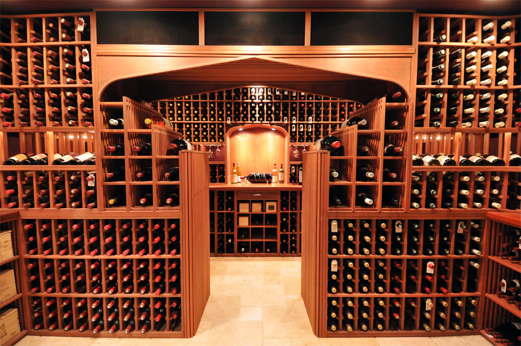 Paul wyatt designs wine racks and custom wine cellar designs for Home wine cellar designs