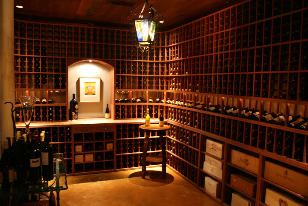 Paul wyatt designs wine racks and custom wine cellar designs for Cost to build a wine cellar