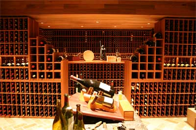 Paul wyatt designs wine racks and custom wine cellar designs - Home wine cellar design ideas cool ones ...